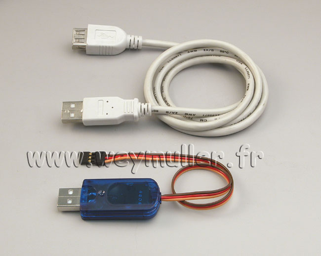 Cordon USB-PC pour récepteur RX-SYNTH