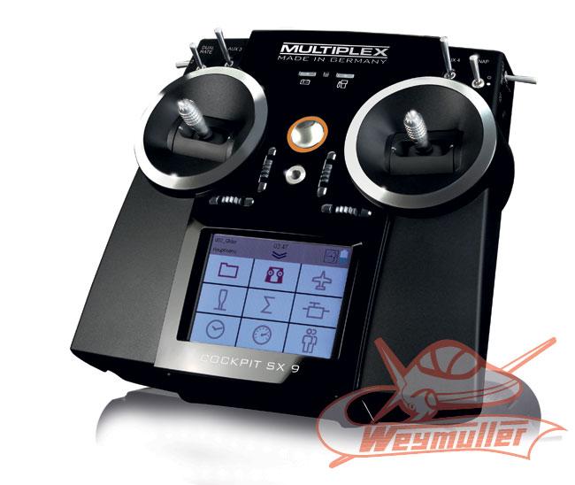 Radio Multiplex Cockpit SX 9/9/0
