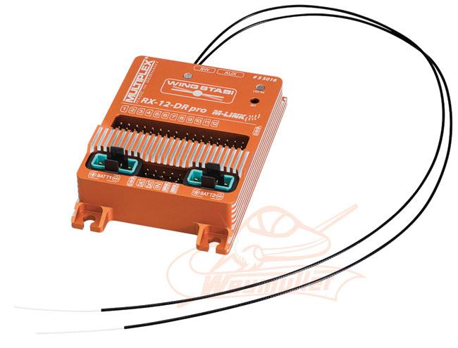 Wingstabi 12 DR Pro M-Link avec double alim. 35A