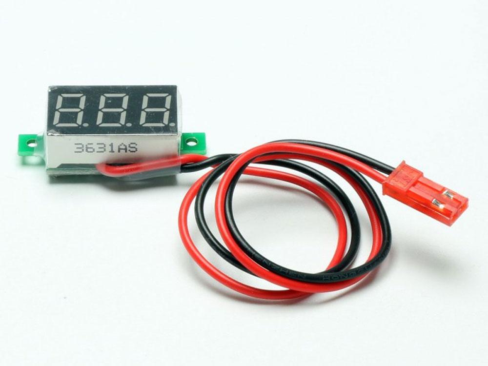 Contrôleur de tension de 0~30V. Prise BEC