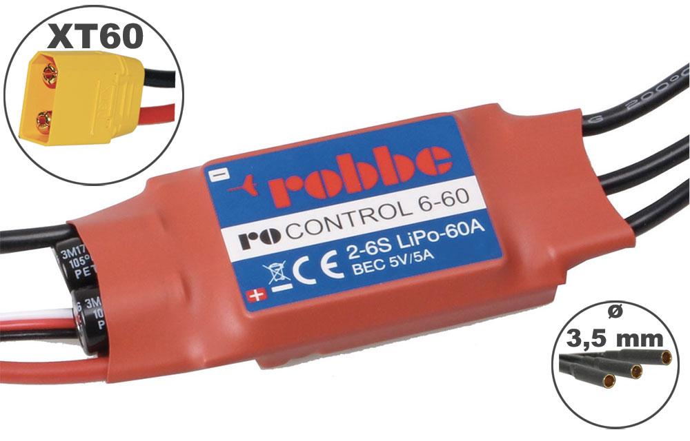 Variateur RO-CONTROL 60A 2-6S