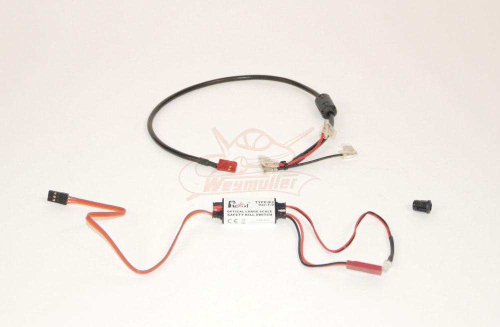 Coupe circuit électronique pour Zenoah à bobine