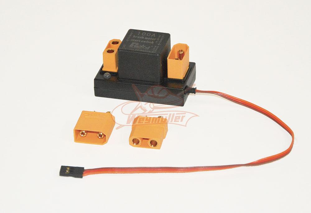 Inter électronique 100A pour démarreur électrique