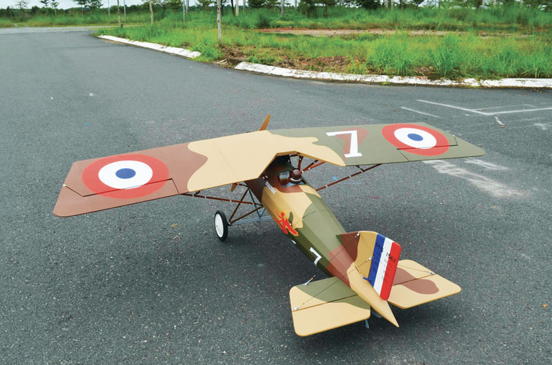 Morane Saulnier A-1 103'' 40 à 60cc ARF 2,60m