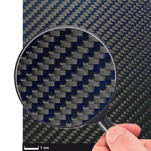 Plaque carbone 350 x 150 x 2,0mm