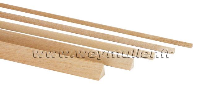bois et balsa baguettes balsa triangulaires weymuller mod lisme n 1 de la vpc. Black Bedroom Furniture Sets. Home Design Ideas